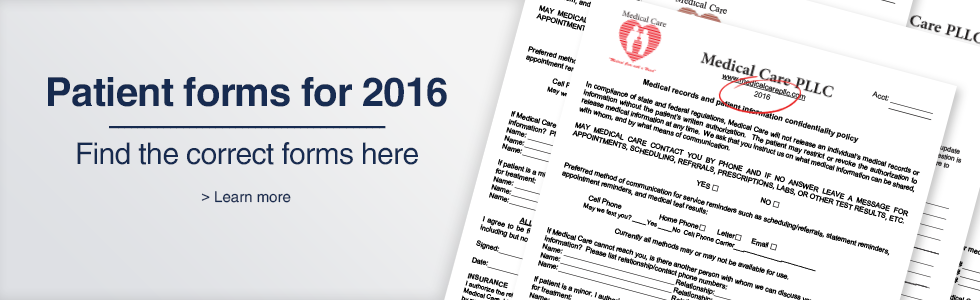 2016 Forms
