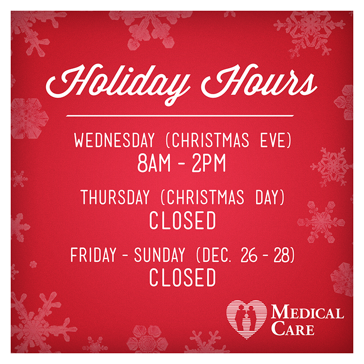 OfficeClosed Holiday Hours