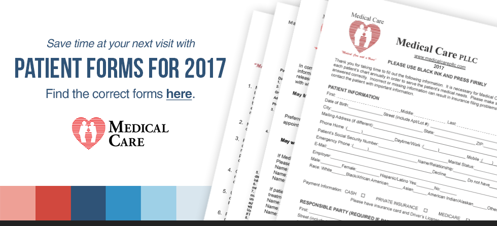 Patient Forms for 2017
