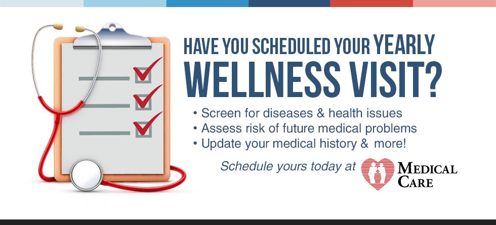 Is It Time for Your Yearly Wellness Visit?
