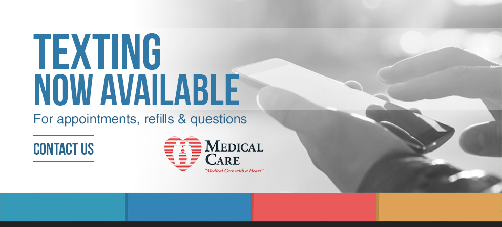 Texting Now Available at Medical Care