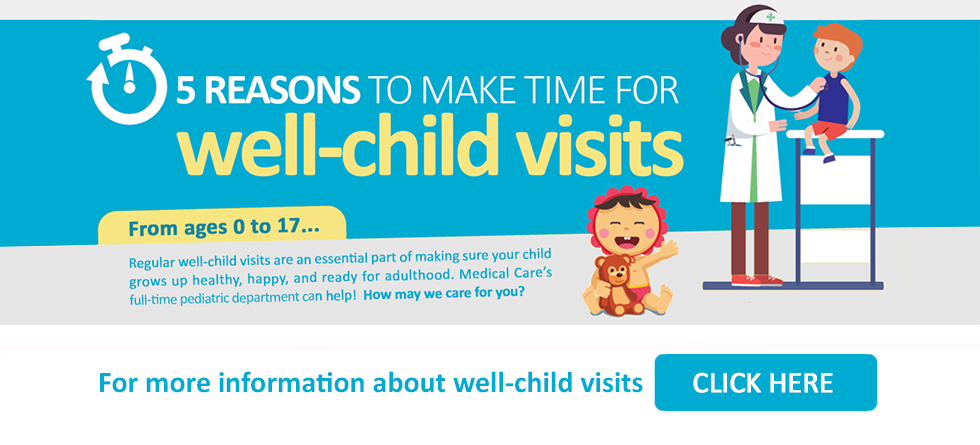 5 Reasons to Make Time for Well-Child Visits
